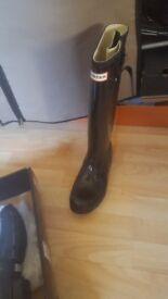 Hunter wellies.size 5. .