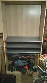 Ikea open wardrobe/shoe cupboard