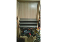 Ikea open wardrobe/shoe cupboard