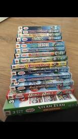 Thomas the tank DVD movies and series bundle