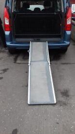 Used Solvit dog ramp good condition. Converted dog guard for Citroen Berlingo.