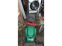 electric lawnmower cobra 32 Qualkast quiet