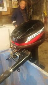 10 HP Mercury Outboard Engine for Sale