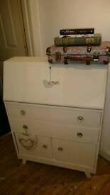 Shabby chic vintage style bureau