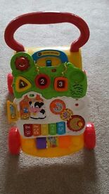 Baby push along toy