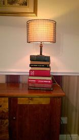 Unique Book Stack Lamp