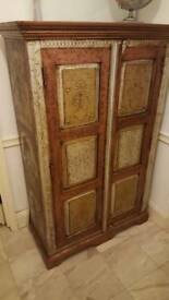 Vintage Wooden Cupboard Indian - will take offer!