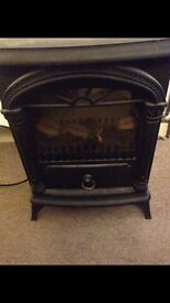 Heater electric log burner look alike for sale