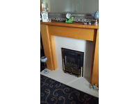 Gas Fireplace and Surround - Excellent Condition