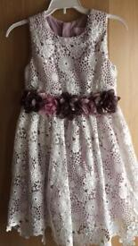 STUNNING NEW dress with JEWELLED design from USA AGE 7/8