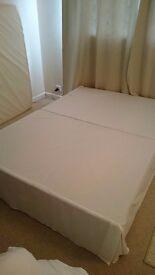 Double devan bed