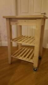 Kitchen Trolley - Ikea (birch)