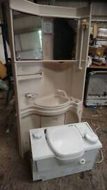 Full bathroom unit to suit camper conversion