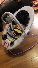 Mamas and Papas Apollo Bouncer - Magic Stripe