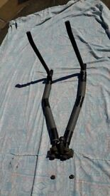 Bicycle Rack for car. Takes 4 bikes. Fits any standard towbar. Strong. Easily fitted & removed.