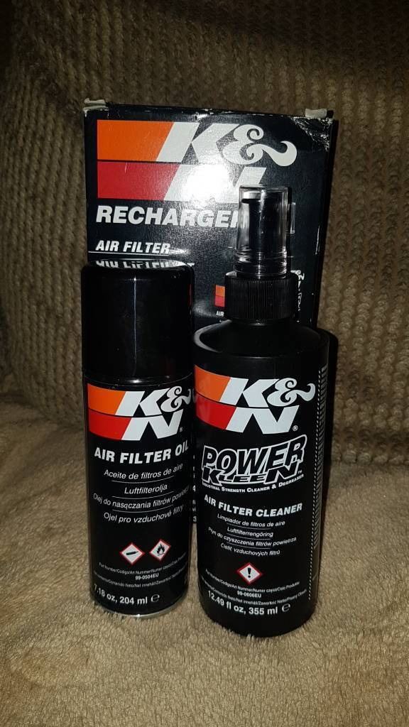 K and n filter recharger kit.