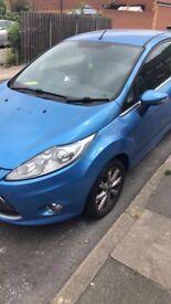 Beautiful blue colour 2 door Ford Fiesta