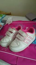 Infant girls trainers size 5