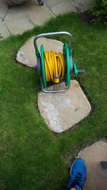 10m Hozelock Hosepipe and Stand