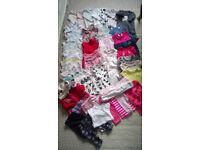 Item picture baby girl 0-3 months bundle next mini mode 52 piece