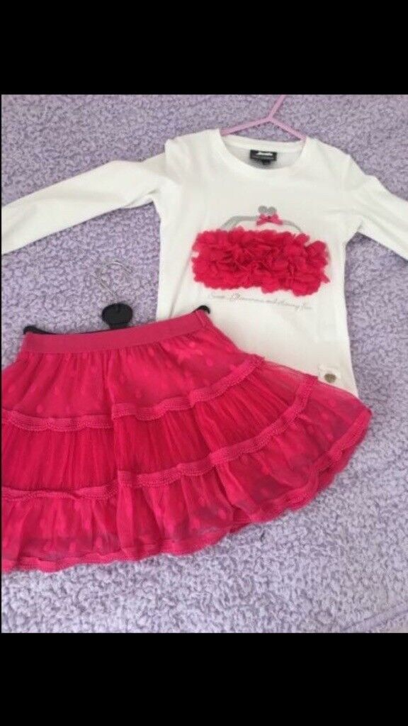 Le Chic Skirt & Top Set Age 6