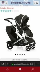BRAND NEW hauck duett double pram