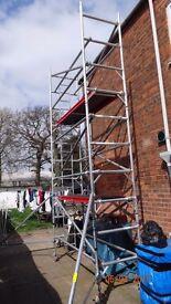 eiger 500 single width 2.5m scaffold tower