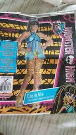 Monster High Cleo de Nile Dressing Up Outfit Age 8-10 Immaculate Condition (Kintore or Aberdeen)