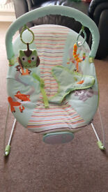 Baby bouncer - excellent condition