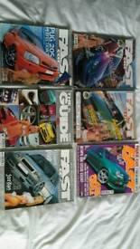 Fast car magazines bundle 3