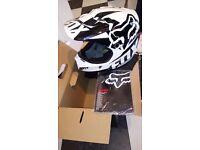 Kids fox motocross helmet *BRAND NEW*