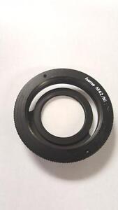 hama M42 lens mount adapter to Nikon F
