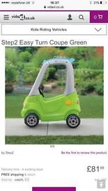 Kids Green coupe car