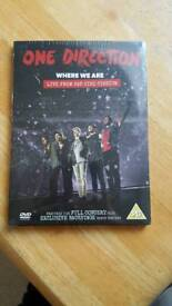 One Direction Where We Are live DVD brand new