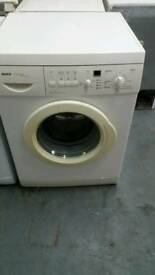 BOSCH WHITE DIGITAL DISPLAY WASHING MACHINE