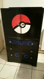 Pokemon cupboard and draws