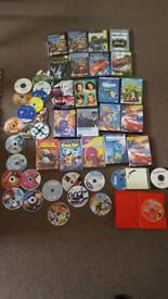 Bundle of games and dvds