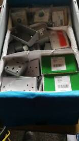 Electrical switches and sockets job lot