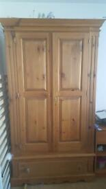 DOUBLE PINE WARDROBE. Free delivery!!!