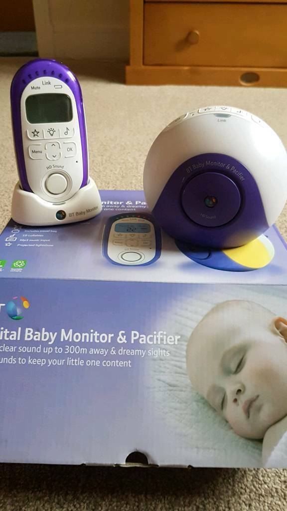 BT Baby moniter & pacifier