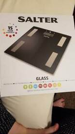 Salter glass scale
