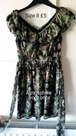Flowery Atmosphere Dress