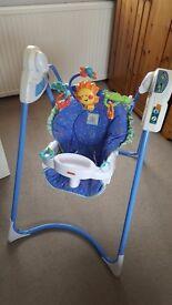 Fisher Price Link-a-doos baby swing