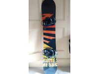 Rome 'Graft' Snowboard 155cm (with bindings)