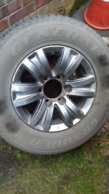 Toyota Hi-Lux Alloy & Tyre