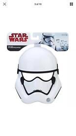 Stormtrooper Helmet Star Wars ep 8 Brand new