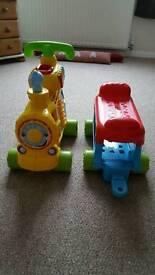 Vetch Push & Ride Alphabet Train.
