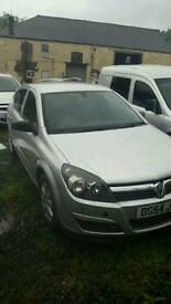 vauxhall astra 1.8 automatic spares or repair.
