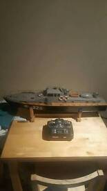 Rc navy friggit & cargo vessel