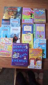 BUNDLE OF CHILDREN'S STORY BOOKS ROALD DAHL & MORE